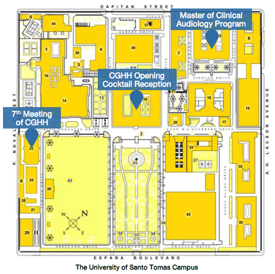 map of ust campus Cghh Conference map of ust campus